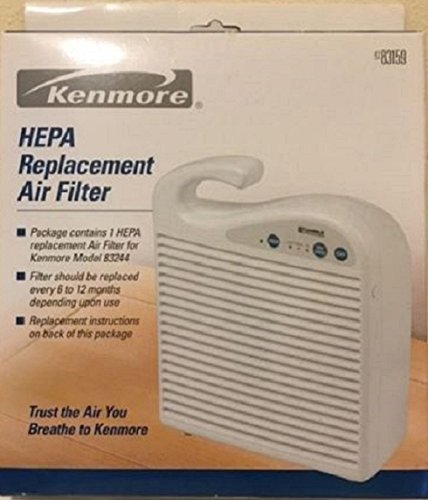 Sears Kenmore 42-83159 HEPA Replacement Air Filter - Fits Kenmore air cleaner model 83244