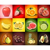Tallenge Art For Kitchen - Freshness Of Life - A3 Size Rolled Poster