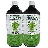 QueenRoyal Aloe Vera Trink Gel 99.55 % pur