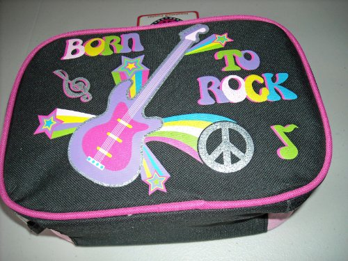 BORN TO ROCK Insulated Lunch Box