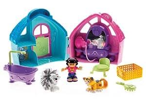 Mattel L3939 - Fisher-Price Little People Tiersalon