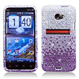 51FHDJ91qIL. SL160  AIMO Purple Waterfall Rhinestone/Diamond/Crystal/Bling Hard Plastic Case Cover for HTC EVO 4G LTE   Sprint