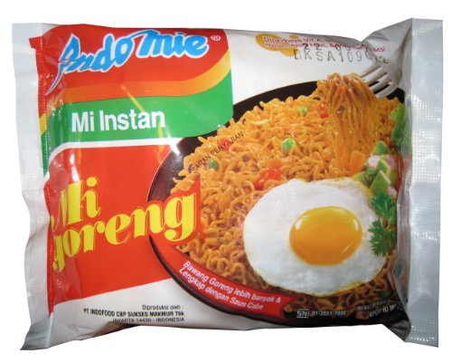 Indomie Goreng Fried Noodles for 1 Case (30 Bags)