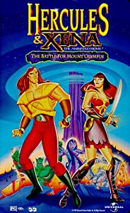 Hercules & Xena - The Animated Movie: The Battle for Mount Olympus (Rated PG) [VHS] from Universal Studios