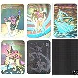Marvel Universe Series 1 Complete 5 Hologram Trading Card Set 1990