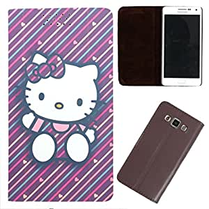DooDa - For Sony Xperia M4 Aqua PU Leather Designer Fashionable Fancy Flip Case Cover Pouch With Smooth Inner Velvet