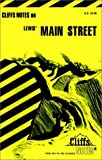 CliffsNotes on Lewis' Main Street (0822007983) by Royster, Salibelle