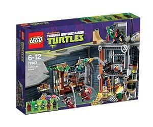 LEGO Tortugas Ninja - Ataque a la guarida de las Tortugas (79103)