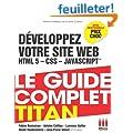 D�veloppez votre site web HTML 5, CSS 3, JavaScript