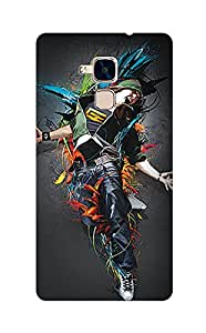 ZAPCASE Printed Back Cover for Huawei Honor 5C