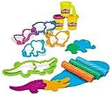 Hasbro B1168EU4 Play-Doh Safari Knetwelt von Hasbro