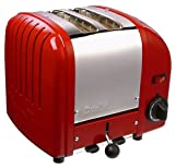 Dualit 2 Slice Toaster Red 20246