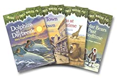 Magic Tree House Boxed Set 3, Books 9-12