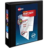 Avery Heavy Duty 2 inch Black View Binder with One Touch EZDTM Ring