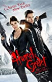 Hansel And Gretel - Witch Hunters Poster Double Sided Advance (2013) Original Cinema Poster - 27