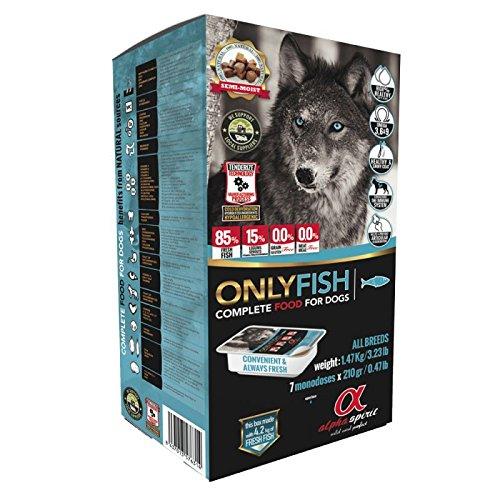 Alpha Spirit - Only Fish Confezione | 7 Vaschette Monodose da 210 gr