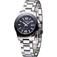 Conquest Black Dial Women's Watch