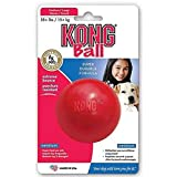 KONG Ball Dog Toy, Medium/Large, Red
