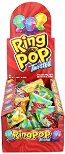 The Topps Company Ring Pop, 24 Count