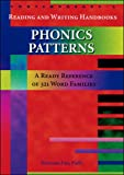 img - for Phonic Patterns: A Ready Reference of 321 Word Families book / textbook / text book