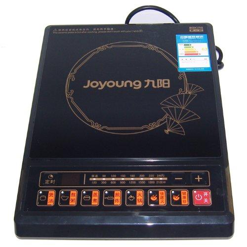 九阳电磁炉jyc-21es10(赠汤锅 炒锅)(八档火力调节智能健康炒程序 防