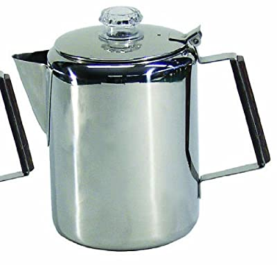 Chinook Canyon 20 Cup Aluminum Coffee Percolator from Chinook