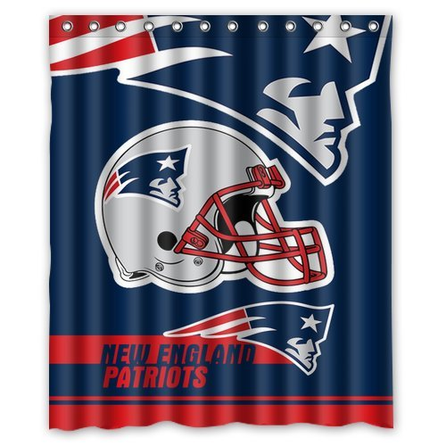Patriots Shower Curtains New England Patriots Shower