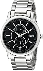 Relic Men's ZR15780 Adrien Silvertone Watch