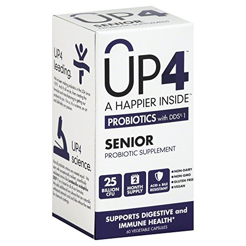 Up4 Senior Probiotic 25 Billion Cfu Uas Lifesciences 60 Vcaps