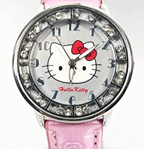 Hello Kitty Children's Red Bow Watch in cute kitty design