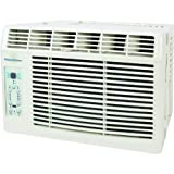"Keystone KSTAW05A 5,200 BTU 115-Volt Window-Mounted Air Conditioner with ""Follow Me"" LCD Remote Control"