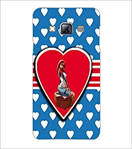 Printdhaba Love Girl D-1120 Back Case Cover For Samsung Galaxy A3