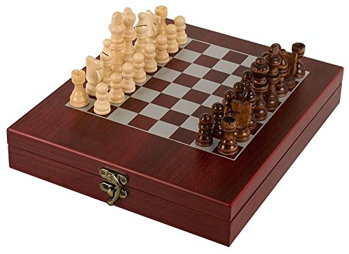 BXCHES01 Rosewood Finish Chess Set
