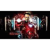 Posterhouzz Movie Iron Man 3 Iron Man HD Wallpaper Background Fine Art Paper Print Poster