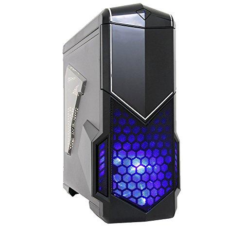 Fierce Bandit Gaming PC - 4,1GHz Sechskern AMD FX6300, AMD RX 460 4GB GDDR5, 16GB Hochleistungsarbeitsspeicher, 240GB Solid State Drive - Perfekt für neuen Spiele, DirectX 12 - 267139