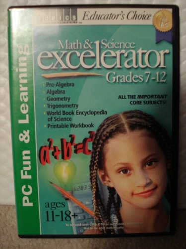 Math and Science Excelerator Grades 7-12 - 1