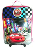 Disney Pixar Cars Boys Large Pilot Case - Rolling Luggage Travel Backpack