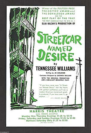 """the themes of loneliness and isolation in a streetcar named desire by tennessee williams and brookly """"what is straight a line can be straight, or a street, but the human heart, oh, no, it's curved like a road through mountains"""" ― tennessee williams, a streetcar named desire."""