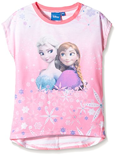 Disney-Frozen-camiseta-Nios-Rosa-Pink-Sugar-Plum-5-aos