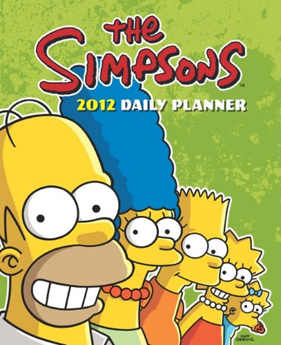 Simpsons 2012 Agenda Calendar
