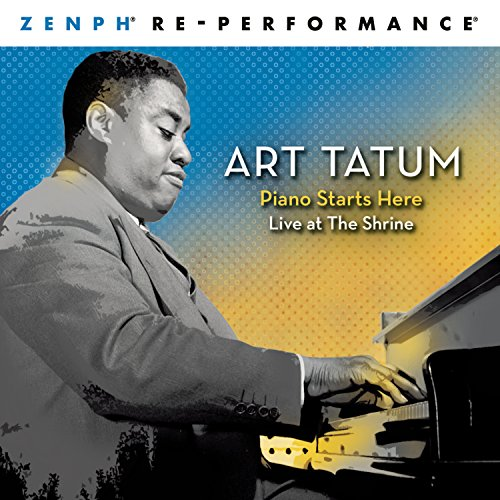 SACD : Art Tatum - Piano Starts Here: Live At The Shrine - Zenph Re-Performance (Hybrid SACD, 3 Disc, Sony Superstar)