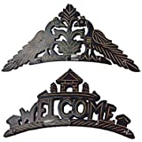 Aarsun Woods Beautiful Wooden Wall Hanging Key Holder- Set Of 2