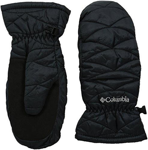 Columbia Women's Mighty Lite Mitten, Black, Small (Omni Heat Glove Liners compare prices)