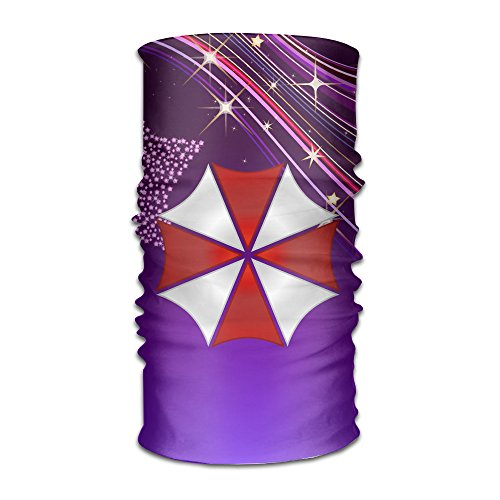 [MGTER66 Resident Evil Umbrella Logo Seamless Multifunctional Headband] (Resident Evil 5 Alice Costume)