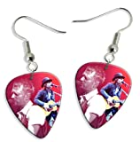 Radiohead Thom Yorke (WK) 2 X Live Performance Guitar Pick Earrings