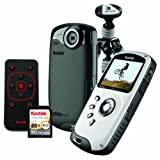 Kodak PlaySport (Zx3) HD Waterproof Pocket Video Camera Bundle (Black)