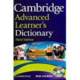 Cambridge Advanced Learner's Dictionary with CD-ROMpar Cambridge University...