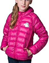 CHERRY CHICK Big Girls Puffer Down Hoodie Jacket