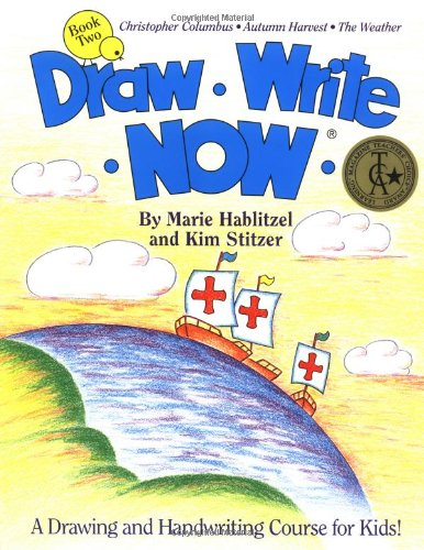 Draw Write Now, Book 2: Christopher Columbus, Autumn Harvest, Weather (Draw-Write-Now) (Draw Write Now 4 compare prices)