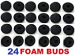24 Pack Foam Earbud Earpad Ear Bud Pa...